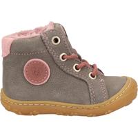Schuhe Jungen Babyschuhe Pepino Halbschuhe Grau/Rosa