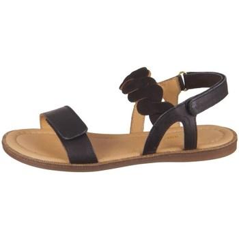 Schuhe Mädchen Sandalen / Sandaletten Bisgaard 719451211000 Schwarz