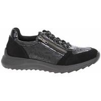 Schuhe Damen Sneaker Low Remonte Dorndorf D570102 Schwarz, Graphit