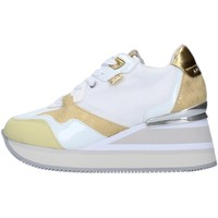 Schuhe Damen Sneaker High Apepazza S1HIGHNEW07/NYL Gelb