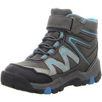 Schuhe Jungen Sneaker High Salamander Stiefel blau 33-21540-35 grau
