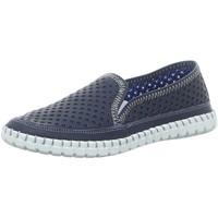 Schuhe Damen Slip on Gemini Slipper 003138 39580002802 blau