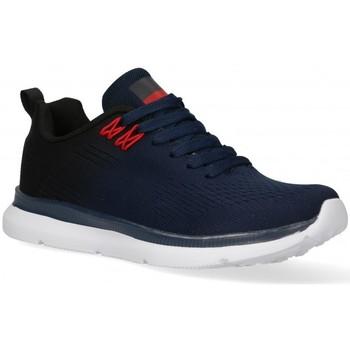 Schuhe Herren Sneaker Low Air 58848 blau
