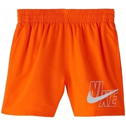 Kleidung Jungen Badeanzug /Badeshorts Nike BAÑADOR NIÑO  NESSA771 Orange
