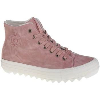 Schuhe Damen Boots Big Star EE274113 Rosa