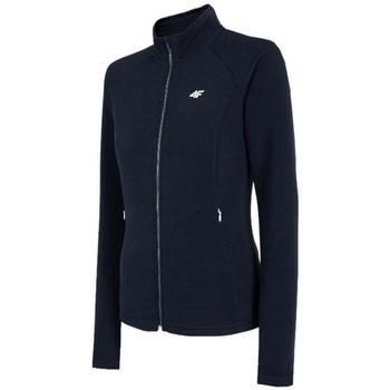 Kleidung Damen Sweatshirts 4F BLDF080 Schwarz