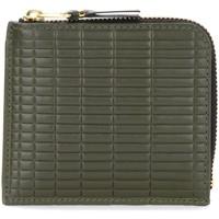 Taschen Portemonnaie Comme Des Garcons Portafoglio  Brick Line in pelle Grün