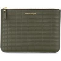 Taschen Geldtasche / Handtasche Comme Des Garcons Pochette  Brick Line in pelle color Grün