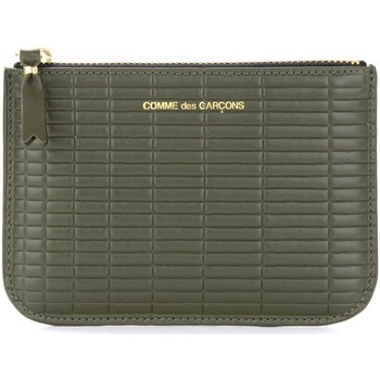 Taschen Geldtasche / Handtasche Comme Des Garcons Bustina  Brick Line in pelle color Grün