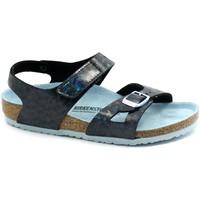 Schuhe Kinder Sandalen / Sandaletten Birkenstock BIR-RRR-1016035-BB Blu