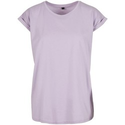 Kleidung Damen T-Shirts Build Your Brand Extended Lila