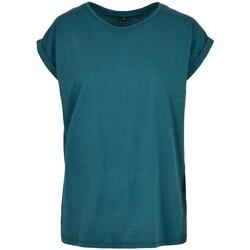 Kleidung Damen T-Shirts Build Your Brand Extended Blau