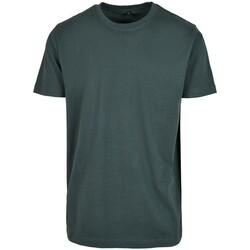 Kleidung Herren T-Shirts Build Your Brand BY004 Flaschengrün