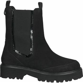 Schuhe Damen Boots Bugatti Stiefelette Schwarz