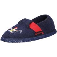 Schuhe Kinder Hausschuhe Giesswein Jungen Hausschuhe blau