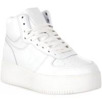 Schuhe Damen Sneaker High Windsor Smith WHITE THRIVE Bianco