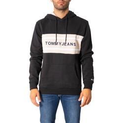 Kleidung Herren Sweatshirts Tommy Hilfiger DM0DM09651 Nero