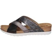 Schuhe Damen Pantoffel Inblu OF 25 Schwarz