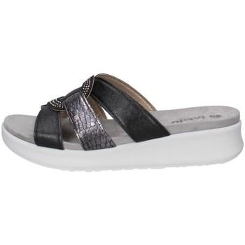 Schuhe Damen Pantoffel Inblu DV 16 Schwarz