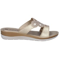 Schuhe Damen Pantoffel Inblu BV 14 Silbern