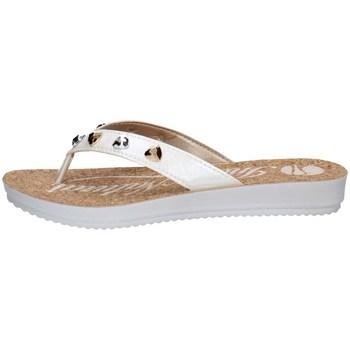 Schuhe Damen Zehensandalen Inblu BM 53 Weiss