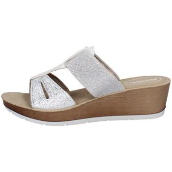 Schuhe Damen Pantoffel Inblu RN 6 Weiss