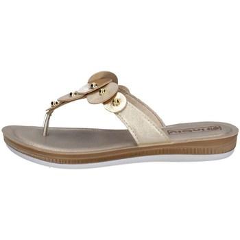 Schuhe Damen Zehensandalen Inblu BA 33 Silbern