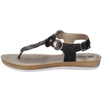 Schuhe Damen Zehensandalen Inblu BA 31 Schwarz