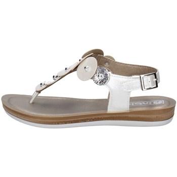 Schuhe Damen Zehensandalen Inblu BA 31 Weiss