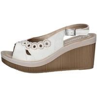Schuhe Damen Sandalen / Sandaletten Inblu AS 25 Weiss