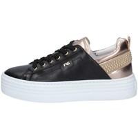 Schuhe Damen Sneaker Low NeroGiardini I117001D Schwarz