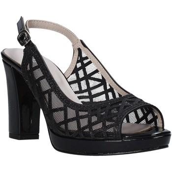 Schuhe Damen Sandalen / Sandaletten Valleverde 45552 Schwarz