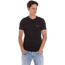 Kleidung Herren T-Shirts Key Up 2S420 0001 Schwarz
