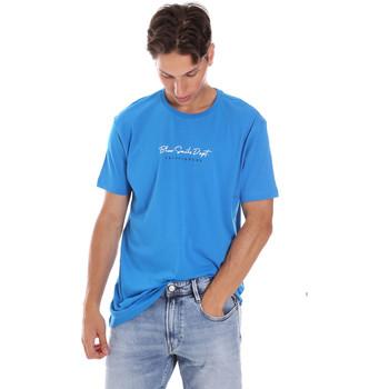 Kleidung Herren T-Shirts Key Up 2S438 0001 Blau