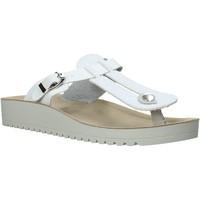 Schuhe Damen Zehensandalen Valleverde 37352 Weiß