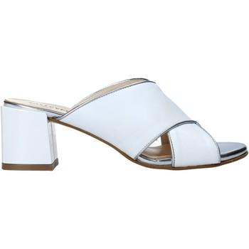 Schuhe Damen Pantoffel Valleverde 38201 Weiß