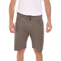 Kleidung Herren Shorts / Bermudas Key Up 2P025 0001 Grün