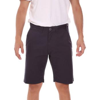 Kleidung Herren Shorts / Bermudas Key Up 2P022 0001 Schwarz