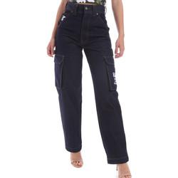 Kleidung Herren Straight Leg Jeans Karl Kani KRCKKMQ12036 Blau
