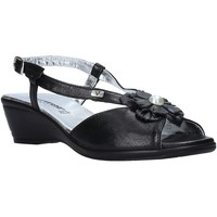 Schuhe Damen Sandalen / Sandaletten Valleverde 33103 Schwarz