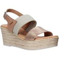 Schuhe Damen Sandalen / Sandaletten Valleverde 34275 Rosa