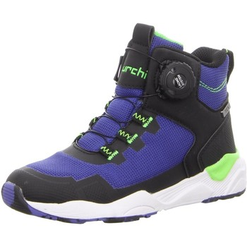 Schuhe Jungen Schneestiefel Lurchi LEROY-TEX,BLACK BLUE 33-26607-31 blau