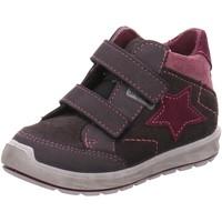 Schuhe Jungen Boots Ricosta Klettschuhe Kimi Lauflernschuh 74-2120700-484 grau