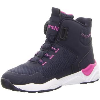 Schuhe Damen Schneestiefel Lurchi Stiefeletten 3326607-32 Leroy-Tex blau