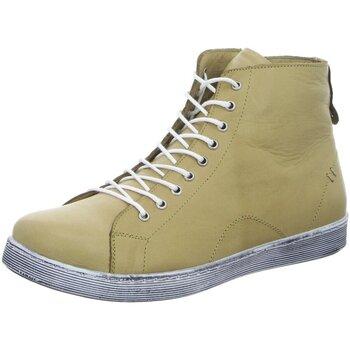 Schuhe Damen Boots Andrea Conti Stiefeletten D Boots kalt 0341500-040 schilf beige