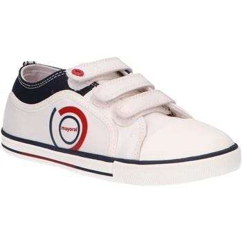 Schuhe Kinder Sneaker Low Mayoral 43321 Blanco