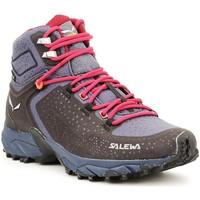 Schuhe Herren Wanderschuhe Salewa Ws Alpenrose 2 Mid GTX 61374-0988 violett