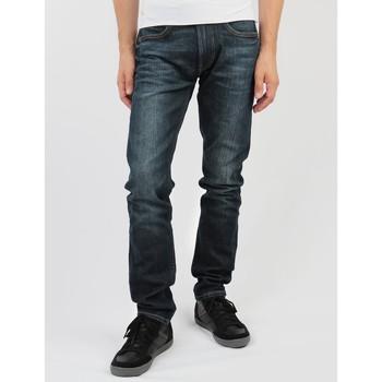 Kleidung Herren Slim Fit Jeans Lee Luke L719PZUB dunkelblau
