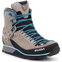 Schuhe Damen Wanderschuhe Salewa Ws Mtn Trainer 2 Winter GTX 61373-7950 grau, blau