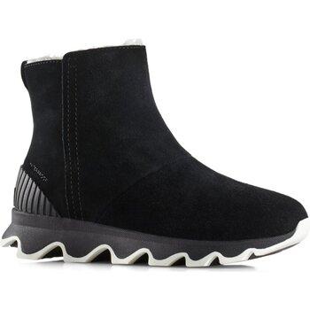 Schuhe Damen Low Boots Sorel Stiefeletten Kinetic Short 1808191010 schwarz